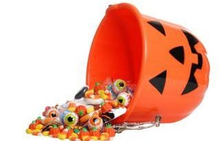 Trick or treat basket